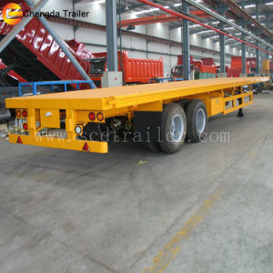 3 Axles 40ft Container Truck Trailer Height pictures & photos