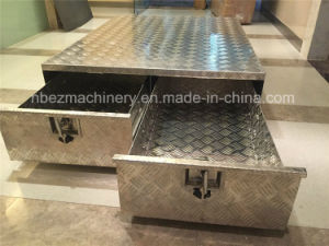 Two Drawers Big Aluminum Trailer Tool Box pictures & photos