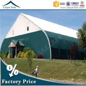 25m * 35m Deluxe Ridge Canvas Durable Curved Marquee Tent for Industry/Event pictures & photos