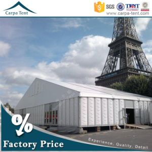 Gorgeous 10X25m Solid Aluminium Structure ABS Wall Event Tent with Wooden Floor pictures & photos