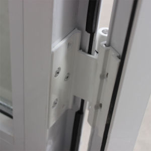 Double Glass with Grid, Powder Coated Aluminium Casement Window K03052 pictures & photos