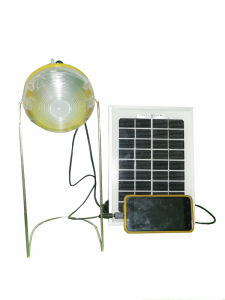 Portable Solar Lantern with 2.5W 8.7V Solar Panel and Lighting Time Display Function pictures & photos