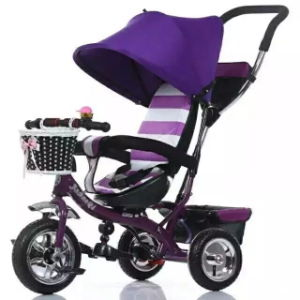 Child Tricycle Children Baby Tricycle Child Trike for Sale with Push Handle pictures & photos