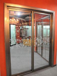 High Qualituy Exterior Aluminium Sliding Door pictures & photos