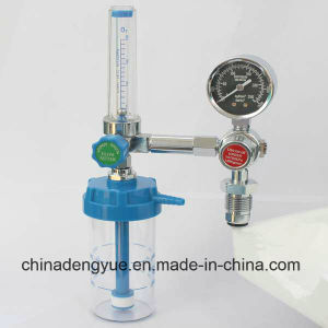European Standard Medical Oxygen Regulator with Humidifier Good Price pictures & photos