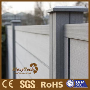 Outdoor Durable WPC Aluminium Wood Fence Panel pictures & photos