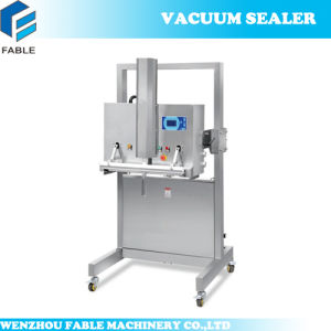 Flat Board Vacuum Packing Machine with Gas Flushing (DZQ-800OF) pictures & photos