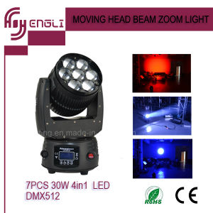 12W*7 LED Stage Moving Head Lighting (HL-009BM) pictures & photos