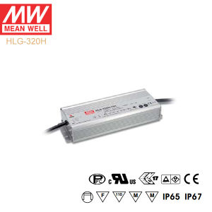 Original Meanwell Hlg-320h Series Single Output Waterproof IP67 LED Driver pictures & photos