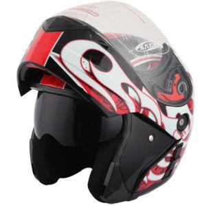 Motorcycle Accessories Flip up Motorcycle Helmet (Double Visors)