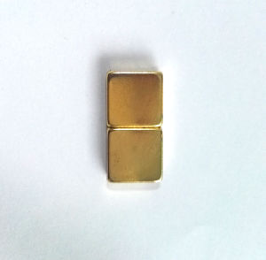 N45 Neodymium Magnet with Ni-Gold Coating pictures & photos