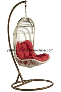 Cheaper Price Outdoor Garden Hammock Swing Chair by Synthetic PE-Rattan Woven (YTA831) pictures & photos