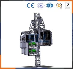 Mini Electric Hoist Winch Price Building Hoist in China pictures & photos