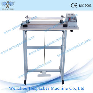 Low Price Foot Type Polythene Sealing and Cutting Machine pictures & photos