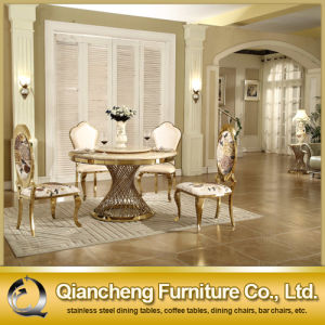 Luxury Design Rose Golden Stainless Steel Modern Dining Chair pictures & photos