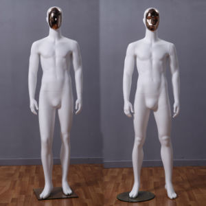 Fiberglass Male Mannequin with Changeable Face pictures & photos