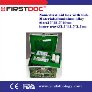 First Aid Kit Box with Lock Qan1063 pictures & photos