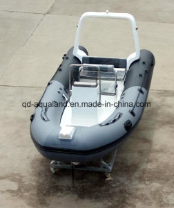Aqualand 16feet 4.7m Rigid Inflatable Rescue Boat/Rib Motor Boat (RIB470B) pictures & photos