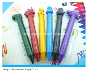 Animal Sharp Plastic Crayons for Kids and Students pictures & photos
