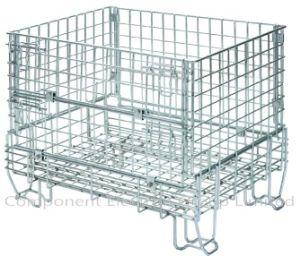 Wire Mesh Cage, Supermarket Storage Cage, Steel Cage, Metal Wire Cage, Wire Storage( pictures & photos