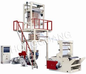 SD-H Series Elevator Rotary Die Head PE Film Blowing Machine pictures & photos
