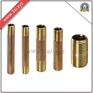 Hot Sale Quality ANSI B 16.11 Copper Male Thread Barrel Nipple (YZF-M561) pictures & photos