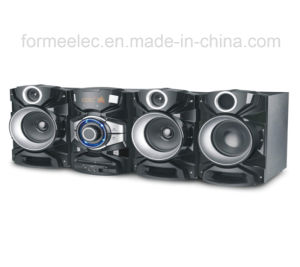 2.1CH DVD Boombox DVD Combo Player Subwoofer RMS 100W pictures & photos