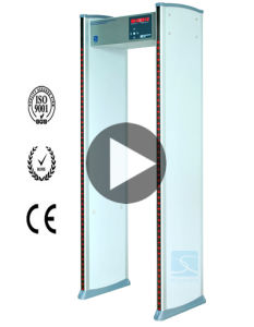 Walk Through Metal Detector (Intuitive waterproof model) Xld-a pictures & photos