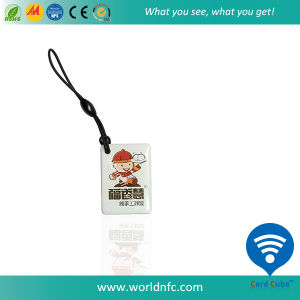 ISO14443A RFID 13.56MHz S50 RFID NFC Epoxy Card pictures & photos
