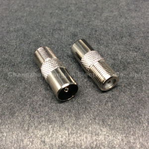 Coaxial RCA BNC F Female to TV 9.5mm Male Connector pictures & photos