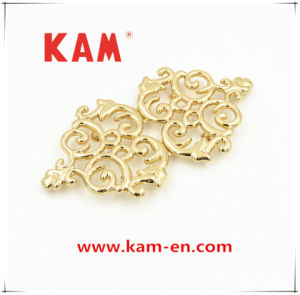 Special Design Good Quality Lemon Gold Designer Zinc Alloy Metal Dress Buckle