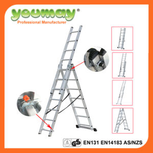 Three Section Aluminium Combination Ladder with GS Certifiate (AC0307A)