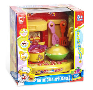 Novelty Plastic DIY Children Kitchen Sets with Flash Light and Music (10217723) pictures & photos