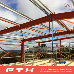 EPS Sandwich Prefabricated Panel Steel Structure Hall pictures & photos