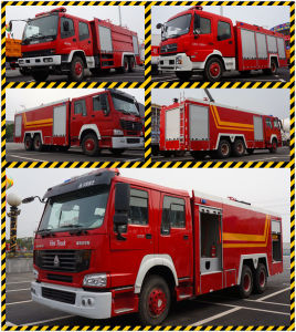 Factory Direct Sale Dongfeng 153 Water Fire Fighting Truck pictures & photos