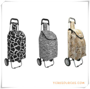 Two Wheels Shopping Trolley Bag for Promotional Gifts (HA82010) pictures & photos