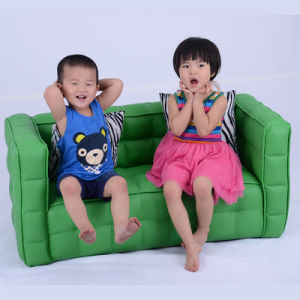 Modern House Preschool Kids Leather Furniture/Sofa/Chair/Children Products (SXBB-150-02) pictures & photos
