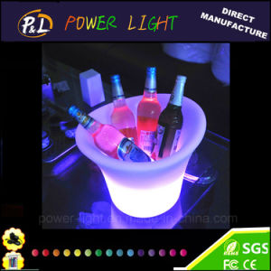 Rechargeable RGB Plastic Bar Furniture LED Wine Holder pictures & photos