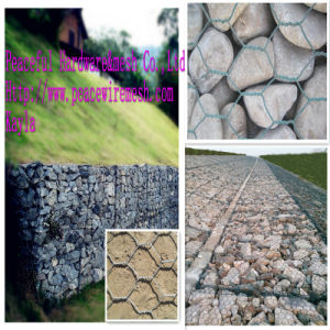 PVC Coated Hexagonal Wire Gabion Box pictures & photos