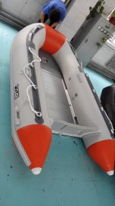PVC/Hypalon Inflatable Boat with Aluminium Floor pictures & photos