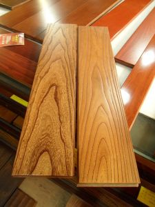 Shunde C&L UV Lacquer Antique Elm Solid Wood Flooring pictures & photos