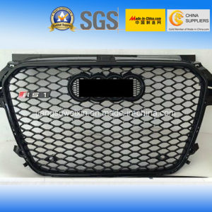 "Auto Car Front Grille for Audi RS1 (Black Logo) 2010-2014"" pictures & photos"