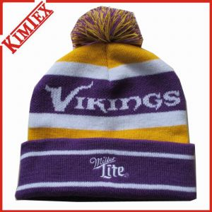 Customized Embroidery Jacquard Knitted Hat Knitted Cap pictures & photos