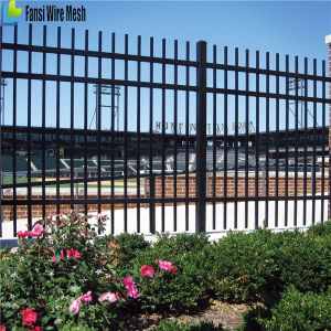 hot sale new products ornamental iron fence panels with post for usa