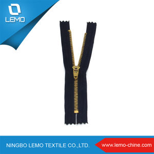 4# Brass Metal Zipper with Close End pictures & photos
