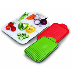 Kitchen 3 Piece Folding Chopping Board