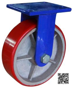 10 Inch Extra Heavy Duty PU on Iron Caster Wheel pictures & photos