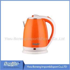 1.8 L Colourful Electric Kettle Hotel Water Kettle Stainless Steel Kettle Sf-2007 (Red) pictures & photos