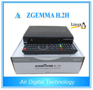 DVB-T2 HD Combo Decoder Zgemma H. 2h with DVB-S2+DVB-T2/C pictures & photos