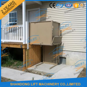 Hydraulic Vertical Stair Lift Disabled Lift with Ce pictures & photos